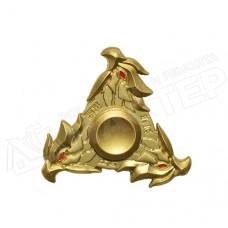 Спиннер металличекий золотой Сокол