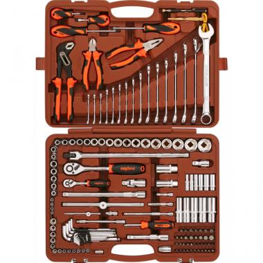 Набор инструмента универсальный 143 предмета Ombra