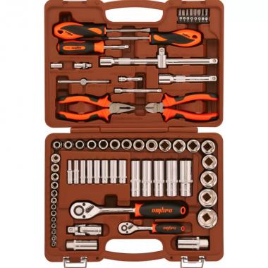 Набор инструмента универсальный 69 предметов Ombra