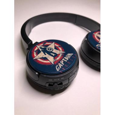 Bluetooth-наушники детские Captain America