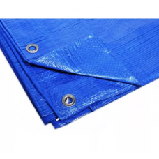 Тент многофункциональный синий 4х5м 80г/м2