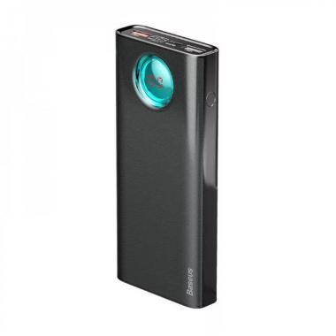 Аккумулятор внешний power bank черный QC 3.0 30000мАч Baseus BS-30KP303