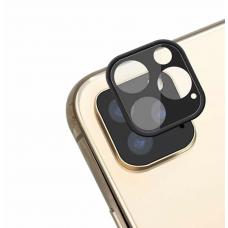 Защитное стекло черное для камеры Apple IPhone 11 Pro/11 ProMax