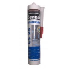Герметик силиконовый затирка светло-коричневый Ceresit CS 25