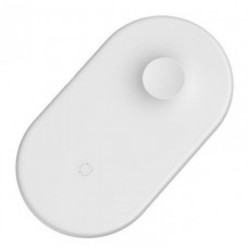 Зарядка беспроводная белая для телефона Baseus BSWC-P19