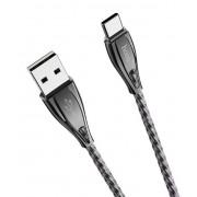 USB кабель черный 1.2 м для Type-C Hoco U56
