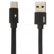 USB дата-кабель 1 м черный Type-C Remax RC-094a