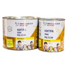 Лак НЦ-2139 матовый 0.7 кг Ярославские краски 15564