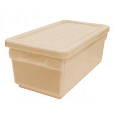 Ящик для хранения с боковой дверцей 12 л бордовый 2590БРД