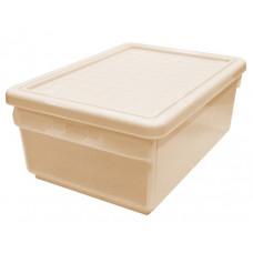 Ящик для хранения с боковой дверцей 15 л бордовый 2591БРД