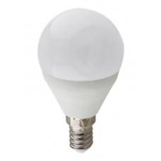 Лампа LED 10 Вт G45 220 В E14 6000 K шар композит Ecola Premium K4QD10ELC