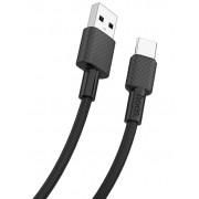 USB кабель черный 1 м Type-C HOCO X29