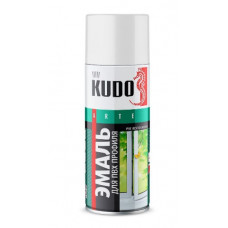 Краска для ПВХ профиля белая 520 мл KUDO KU-6101
