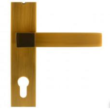 Ручка дверная на планке 109-70 мм матовый кофе НОРА-М ЦБ000010563