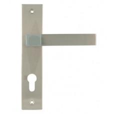 Ручка дверная на планке 109-70 мм хром НОРА-М ЦБ000010565