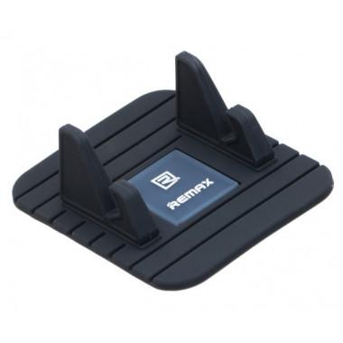 Автодержатель-коврик нескользящий черный для телефона Remax RC-G1