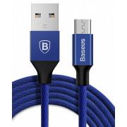 Кабель microUSB синий 100 см Baseus Yiven Cable CAMYW-A13