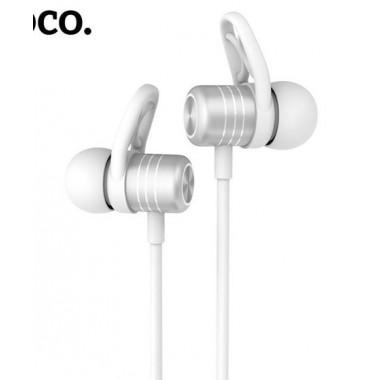 Bluetooth-наушники спортивные белые Hoco Sports Earphone ES14