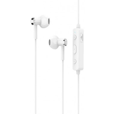 Bluetooth-наушники спортивные белые Hoco Sports Earphone ES21