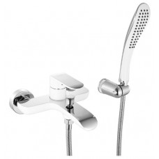 Смеситель для ванны белый/хром IDDIS Calipso CALSB00i02