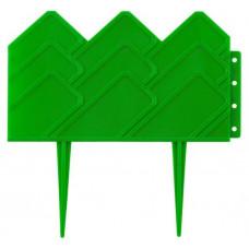 Бордюр декоративный для клумб 14х310 см зеленый GRINDA 422221-G