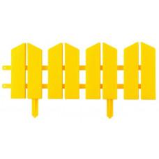 Бордюр декоративный 16х300см желтый GRINDA Летний Сад 422225-Y
