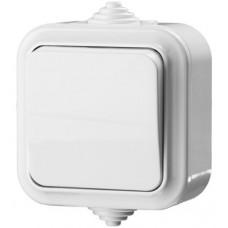 Выключатель одноклавишный IP54 6 А 220 В STAYER Master Maxima 54301-W