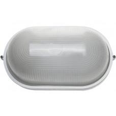 Светильник уличный влагозащищенный овал белый 100 Вт СВЕТОЗАР SV-57203-W