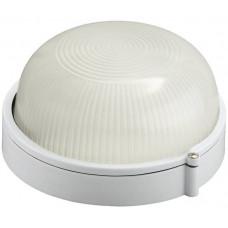 Светильник уличный влагозащищенный круг белый 60 Вт СВЕТОЗАР SV-57251-W