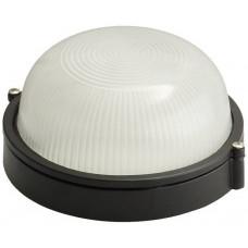 Светильник уличный влагозащищенный круг черный 60 Вт СВЕТОЗАР SV-57251-B