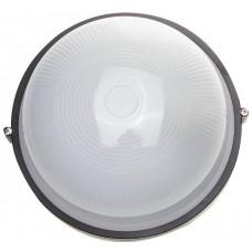 Светильник уличный влагозащищенный круг черный 100 Вт СВЕТОЗАР SV-57253-B