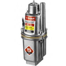 Насос вибрационный погружной для чистой воды 240 Вт 24 л/мин ЗУБР Родничок НПВ-240-10