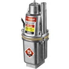 Насос вибрационный погружной для чистой воды 240 Вт 24 л/мин ЗУБР Родничок НПВ-240-25