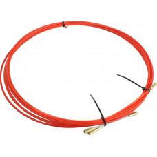 Протяжка кабельная в бухте 5 м красная REXANT 47-1005