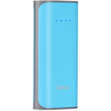 Аккумулятор внешний Power Bank синий 5200 mAh HOCO B21