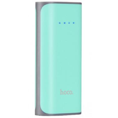 Аккумулятор внешний Power Bank голубой 5200 mAh Hoco B21