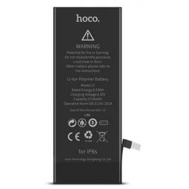 АКБ аккумуляторная батарея 1720 mAh для iPhone 6S HOCO J7