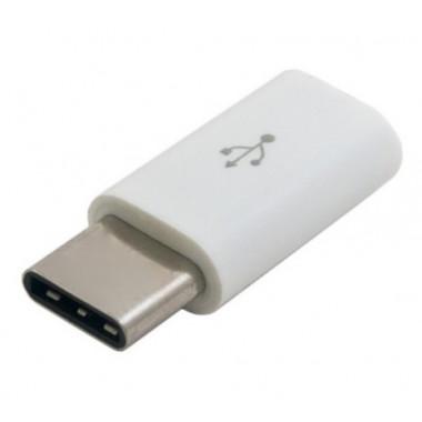 Адаптер USB-C - microUSB Smartbuy M-USB/1000