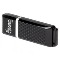 USB накопитель 8 GB черный Smartbuy Quartz series SB8GBQZ-K
