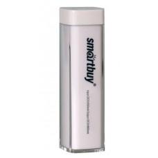 Аккумулятор внешний Power bank 2000 мАч белый SmartBuy EZ-BAT SBPB-1010