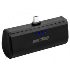Аккумулятор внешний Power bank 2.1A 2200 мАч TYPE-C черный SmartBuy TURBO С SBPB-250
