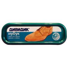 Губка для обуви ДивиДик Нубук Ас077830