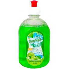 Средство для мытья посуды 540 мл Бархим Янтарь Зеленое яблоко Ас076191