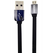 Кабель microUSB черный Remax King Kong Safe&Speed RC-015m