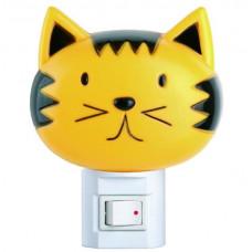 Ночник с выключателем 220V 7W Camelion Кошка NL-003 9198
