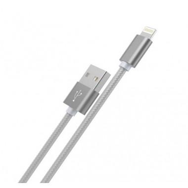 USB кабель черный 1 м для iPhone Hoco Rapid Charging X2