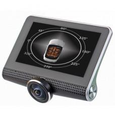 Видеорегистратор автомобильный большой угол обзора Eplutus D37