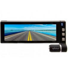 Видеорегистратор автомобильный для грузовиков с 2-мя камерами и Wi-Fi Eplutus D67