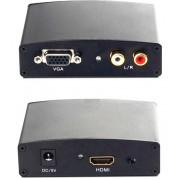 Конвертер HDMI/microUSB MHL - VGA+Audio 3.5 DAYTON Toslink 10-0012