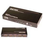 HDMI-сплиттер 1 вход 4 выхода 4K FullHD DAYTON SPLITTER MD-114